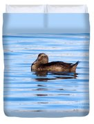 Brown Duck Duvet Cover