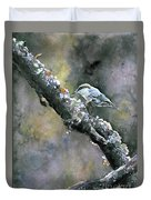 Brown-headed Nuthatch Duvet Cover