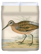 Brown Snipe Duvet Cover