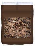 Brown Tarantula Duvet Cover