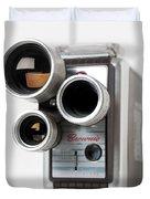 Brownie Movie Camera Duvet Cover