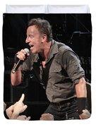 Musician Bruce Springsteen Duvet Cover