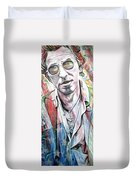 Bruce Springsteen Duvet Cover by Joshua Morton