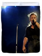 Bruce Springsteen Performing The River At Glastonbury In 2009 - 1 Duvet Cover