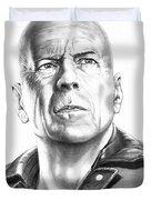 Bruce Willis Duvet Cover