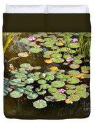 Bruges Lily Pond Duvet Cover