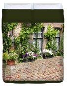Brugge Balcony Duvet Cover