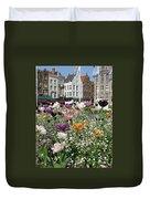 Brugge In Spring Duvet Cover