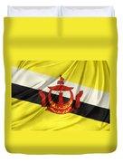 Brunei Flag Duvet Cover