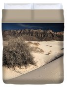 Brush In The Dunes Duvet Cover
