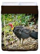 Brush Turkey Duvet Cover