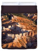 Bryce Canyon From The Air Duvet Cover