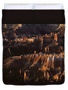 Bryce Canyon National Park Hoodo Monoliths Sunrise Southern Utah Duvet Cover