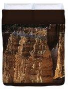 Bryce Canyon National Park Hoodo Monoliths Sunset From Sunrise P Duvet Cover
