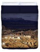 Bryce Canyon National Park Hoodo Monoliths Sunset Southern Utah  Duvet Cover