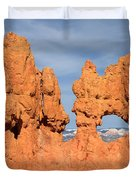 Bryce Canyon Peephole Duvet Cover