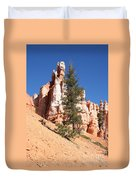 Bryce Canyon Red Fins Duvet Cover