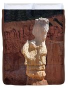 Bryce Canyon Rock Formation Duvet Cover