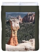 Interesting Bryce Canyon Rockformation Duvet Cover