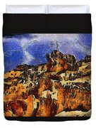 Bryce Canyon Thuderstorm Duvet Cover