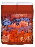 Bryce Canyon Utah Duvet Cover