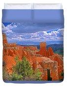 Bryce Canyon's Agua Canyon Duvet Cover