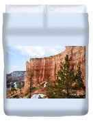 Bryce Curved Formation Wall Duvet Cover