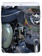 Bsa Motorcycle Duvet Cover