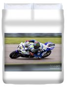 Bsb Superbike Rider John Hopkins Duvet Cover