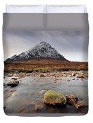 Buachaille Etive Mor  Duvet Cover by Grant Glendinning