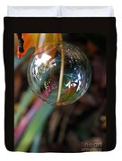Bubble Cocoon         Duvet Cover by Kaye Menner