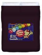 Bubble Gum Duvet Cover