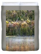 Bubble Pond Acadia National Park Duvet Cover