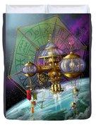 Bubble Telescope Duvet Cover