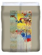 Bubble Tree - 43ff04 Right Duvet Cover