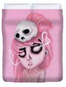 Bubblegum Pink Duvet Cover