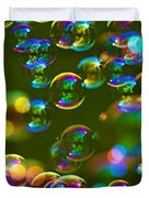 Bubbles Bubbles And More Bubbles Duvet Cover