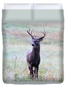 Buck Looking For A Doe Duvet Cover