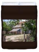 Buck Ranch Barn Duvet Cover