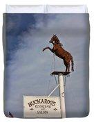 Buckaroo's Saloon Duvet Cover