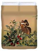 Buckeye Beauty Duvet Cover