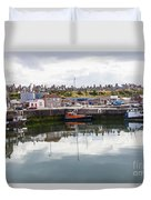 Buckie Harbour Duvet Cover
