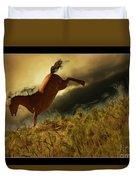 Bucking Horse Duvet Cover