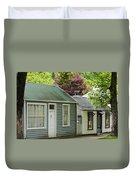 Buckingham Street Cottages Duvet Cover