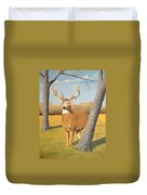 Bucky The Deer Duvet Cover