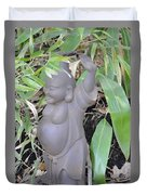 Budai Duvet Cover