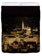 Budapest Castle Duvet Cover