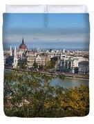 Budapest City Duvet Cover