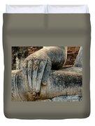 Buddha Hand Thailand Duvet Cover
