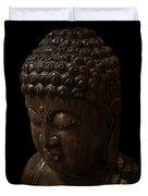 Buddha In The Dark Duvet Cover